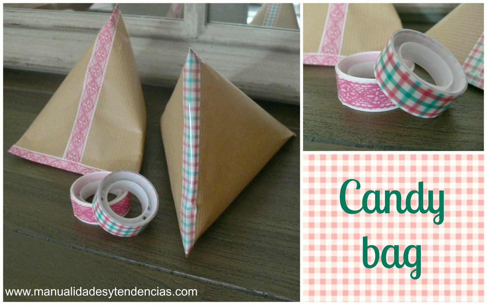 Handmade candy bag