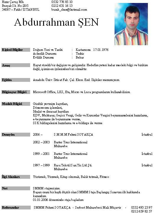 sample actor resume