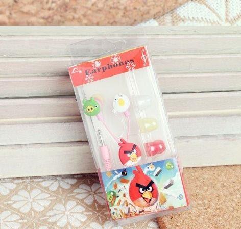 CuteGiftsNSuch: Angry Birds Earphone cum Hands-free Kit