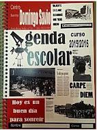 Agenda del colegio Santo Domingo Savio de Petrer