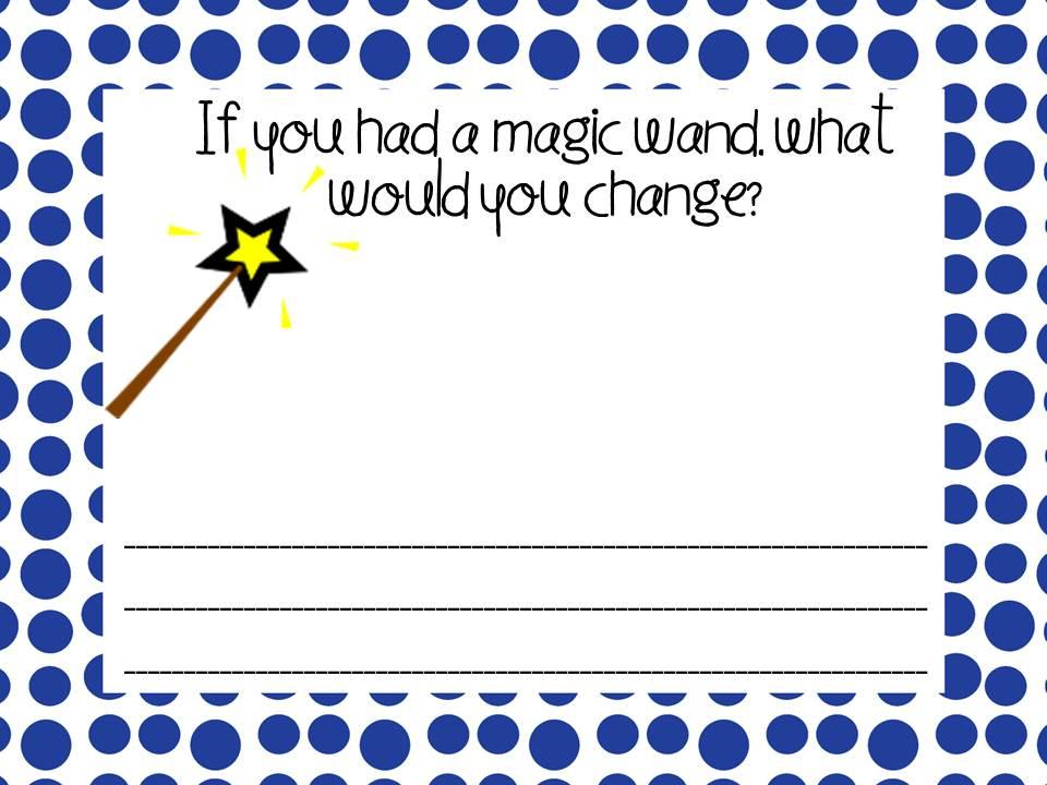 The Stylish School Counselor Magic Wand