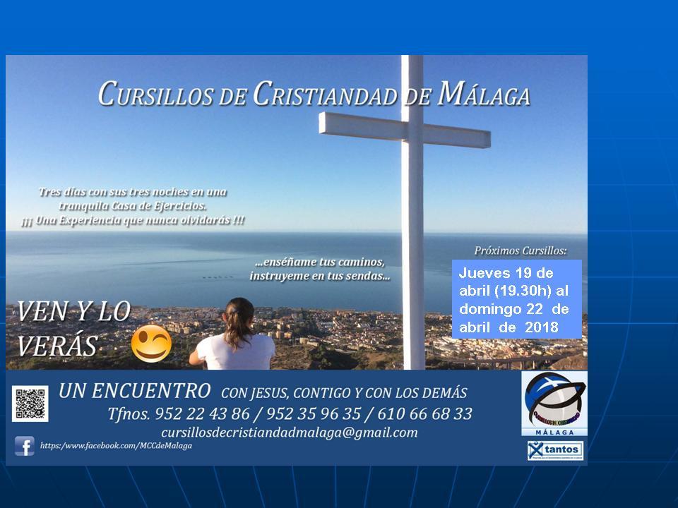 CURSILLOS DE CRISTIANDAD MÁLAGA