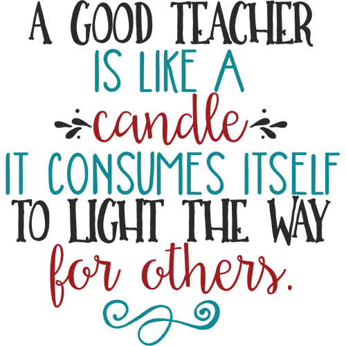 a good teacher is like a A great teacher is like a great leader, staying strong in the face of adversity,  focusing on the positive, and never letting students lose hope a teacher's  positivity is.
