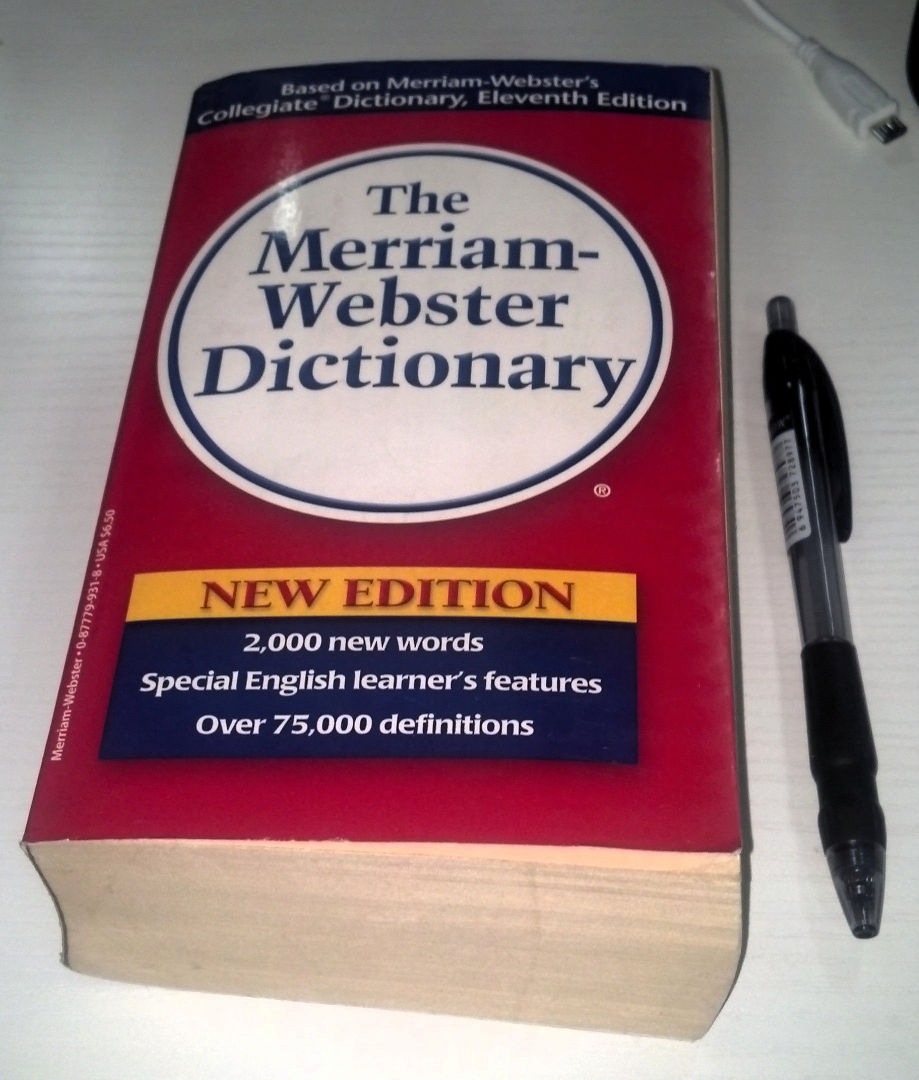 websters dictionary merriam webster dictionary in paperback thinking
