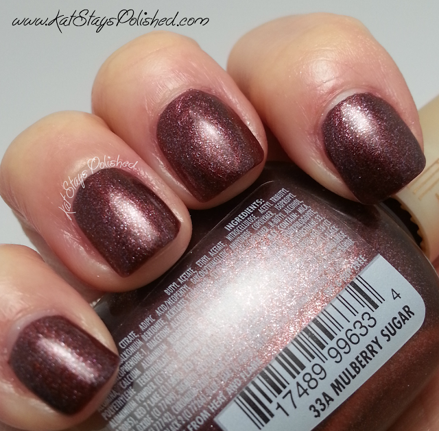 Milani Nail Lacquer - Mulberry Sugar