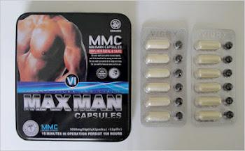 مستحضر مكس مان MaxMan  يحتوي على  فياجرا ومعدن الزئبق و الرصاص