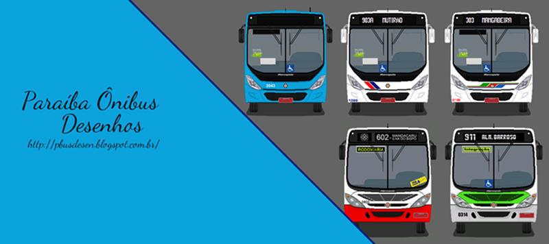 Paraíba Ônibus Desenhos