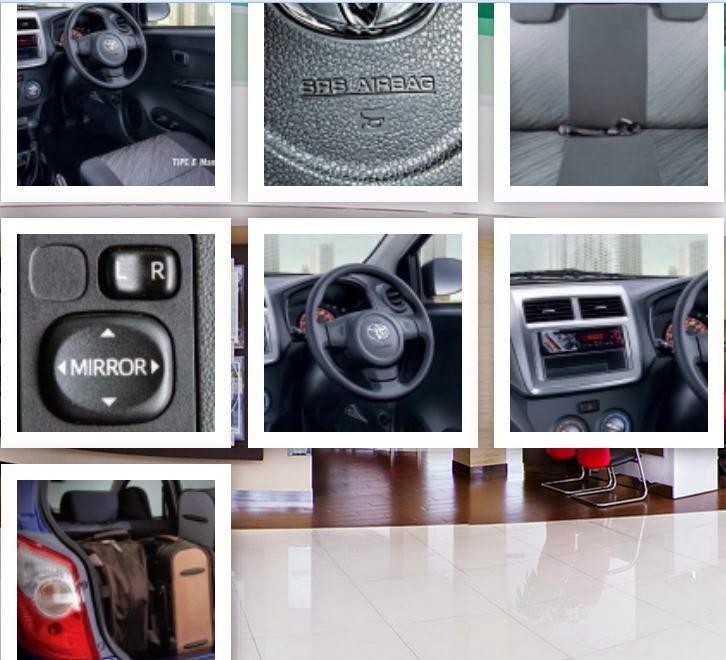 Interior Toyota Agya E