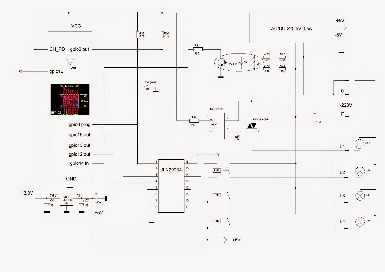 Схемы для контроллера для ds1990a