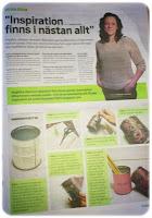 Hudiknytt gratistidning reportage tidning renovering pyssel tips