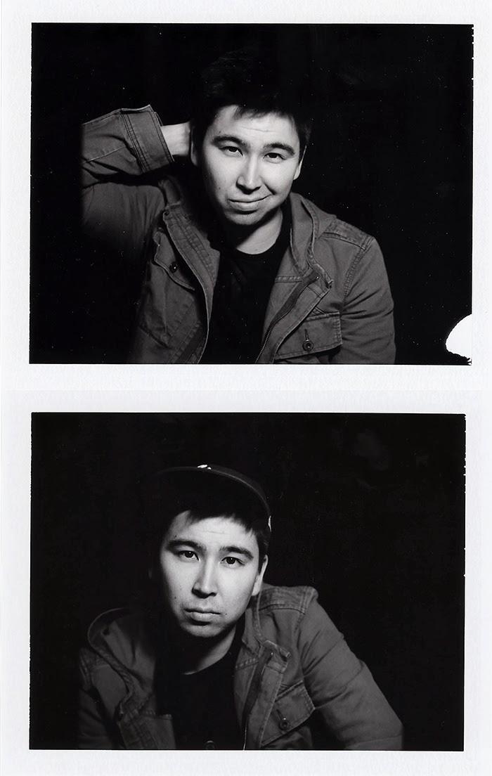 Mamiya RB67 Polaroid back FP3000B