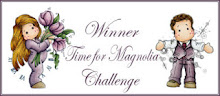 I won Christmas #2   @ Time For A Magnolia challenge