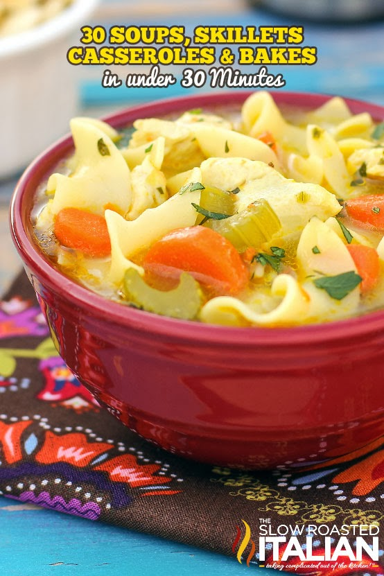 30 minute meals casseroles skillets and soups here are 30 of our favorite recipes created in 30 minutes or less to help simplify your meal time with a plethora of casseroles skillets and forumfinder Gallery