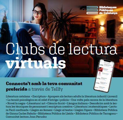 Apunta't als Clubs de lectura virtuals