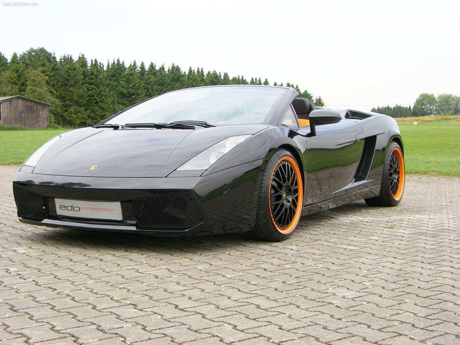 Hình ảnh siêu xe Edo Lamborghini Gallardo Spyder 2005 & nội ngoại thất