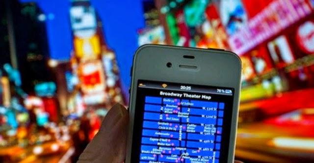 Smartphone không thể thiếu đối với khách du lịch