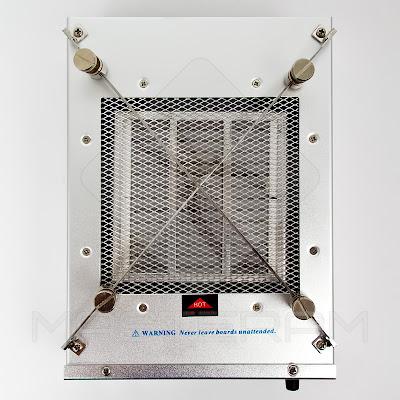 Фиксаторы платы преднагревателя AOYUE Int 853A