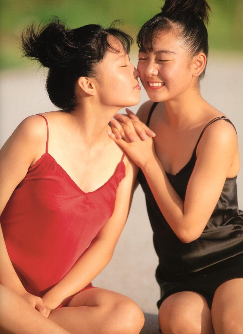yoko mitsuya and saori nara stripping japanese teens 04
