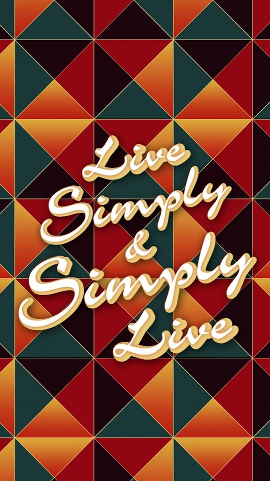 Live Simple 038 Simply Live   Galaxy Note HD Wallpaper
