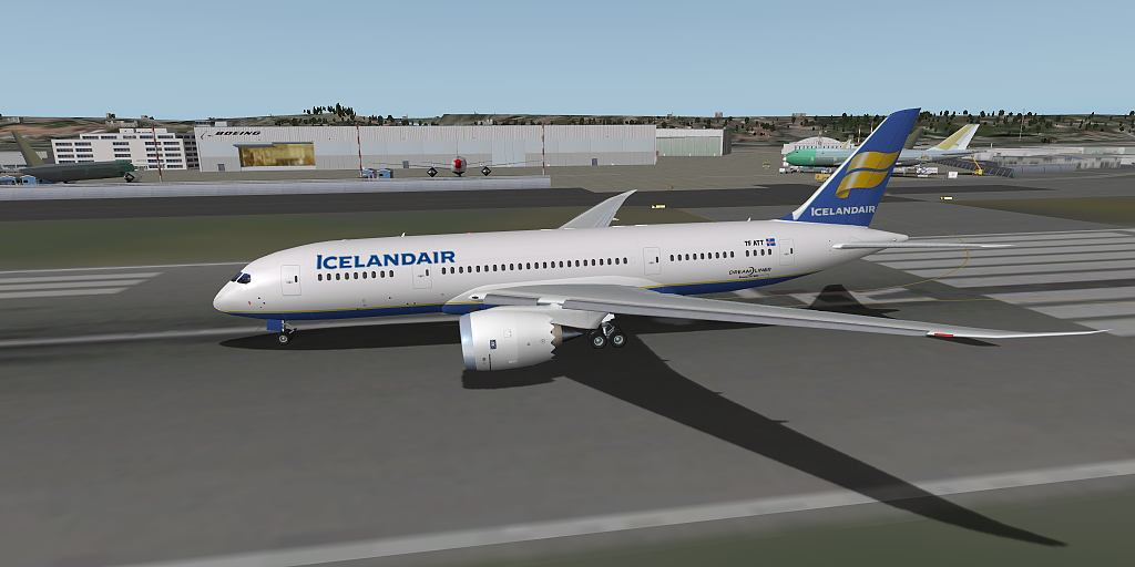 Urban\'s X-Plane experience: Heinz\'s Boeing 787 - a quick view