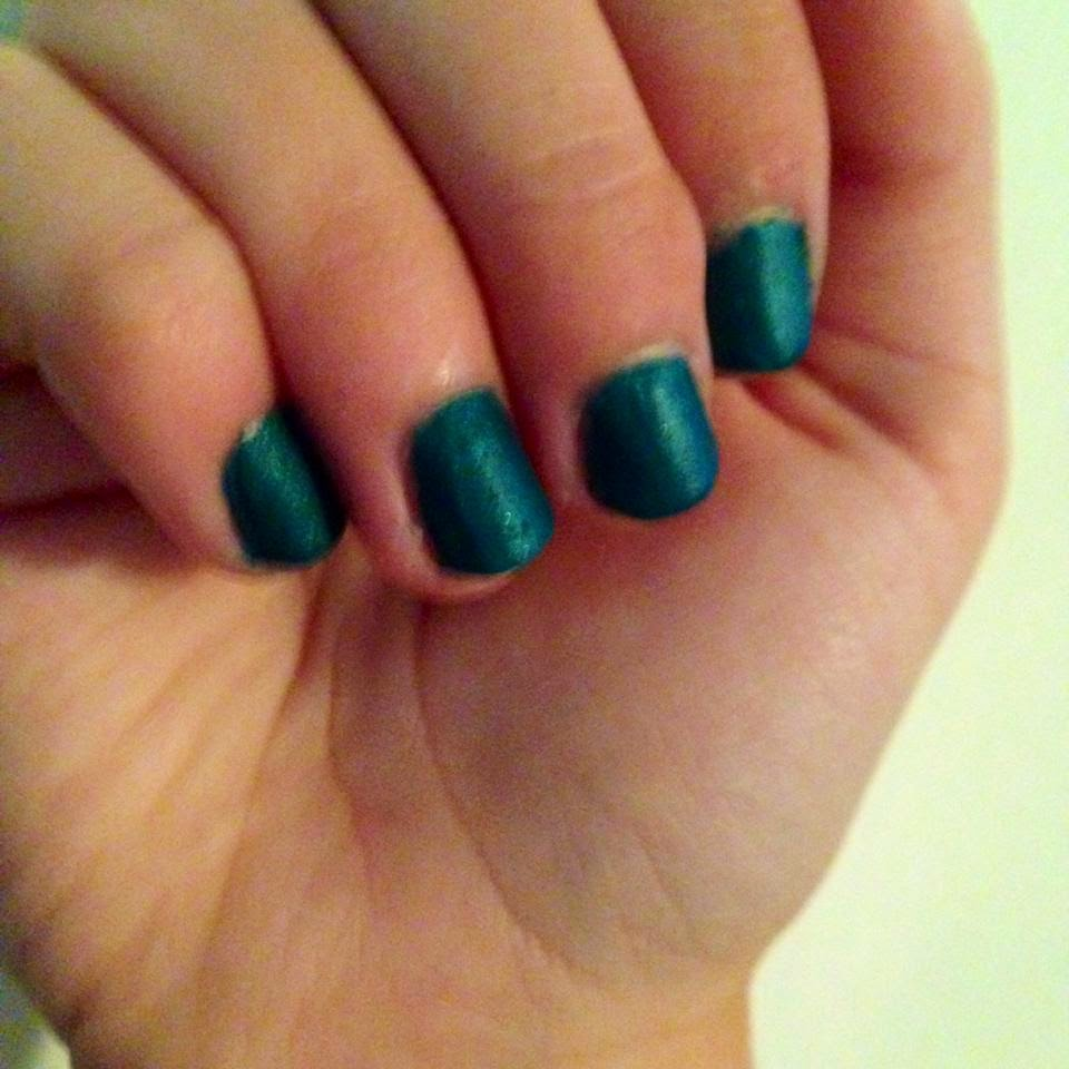 Clumpy Nail Polish: ChromoBeauty: Matte Nail Polish DIY