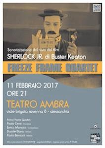 A CURA DEL FREEZE FRAME QUARTET Alessandria: Sabato 11 Febbraio al Teatro Ambra