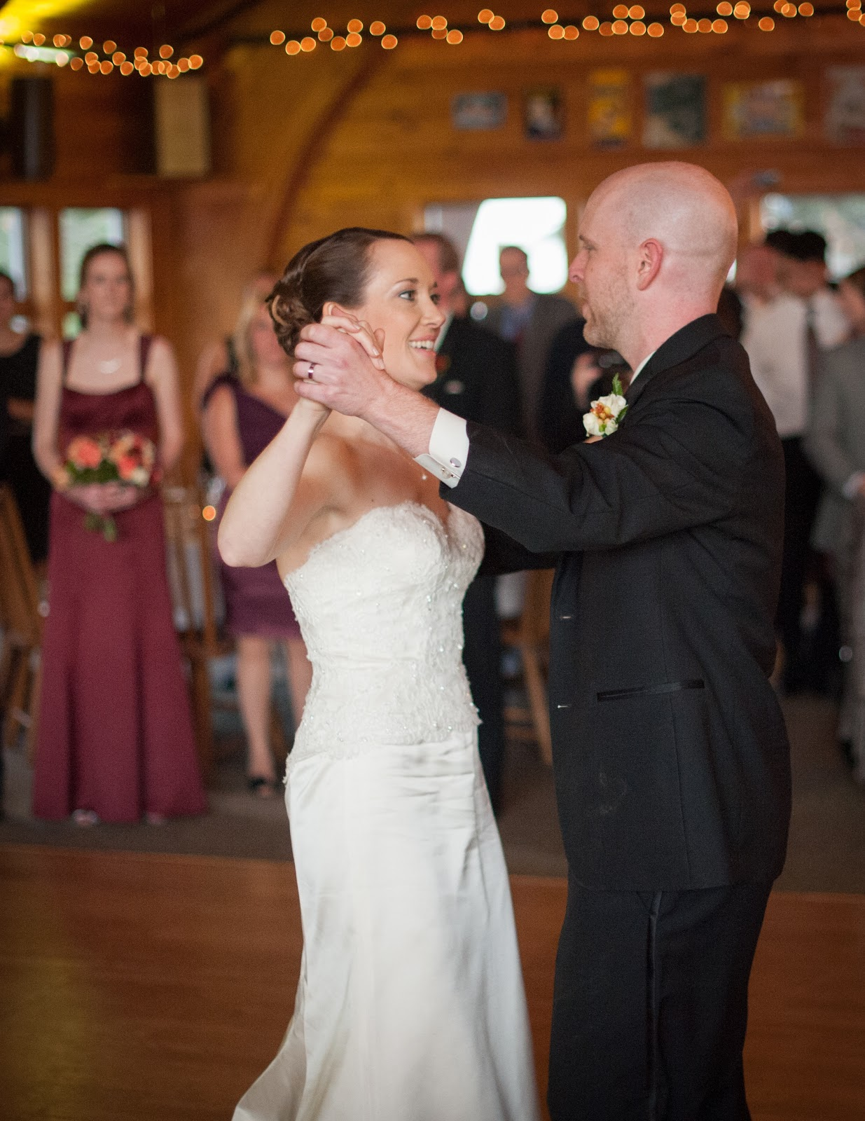 For This Wedding Wednesday Post I Thought It Would Be Fun To Share Some Photos Of Our First Dance As Husband And Wife Well Parents Dances