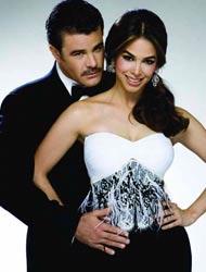 Foto de Bibi Gaytán con su esposo Eduardo Capetillo