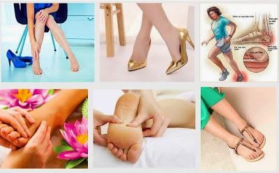 5 liệu pháp đơn giản để giảm cơn đau chân