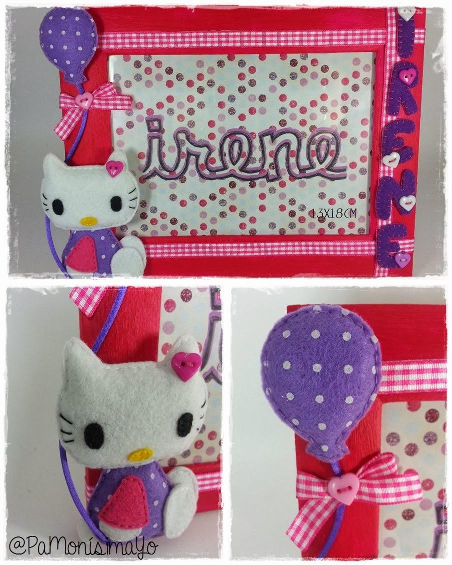 Marco de fotos Hello Kitty para Irene @pamonisimayo