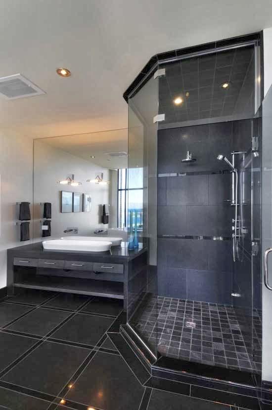 desain kamar mandi modern desain rumah