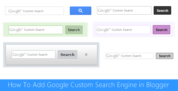 Google Custom Search Engine For Blogger