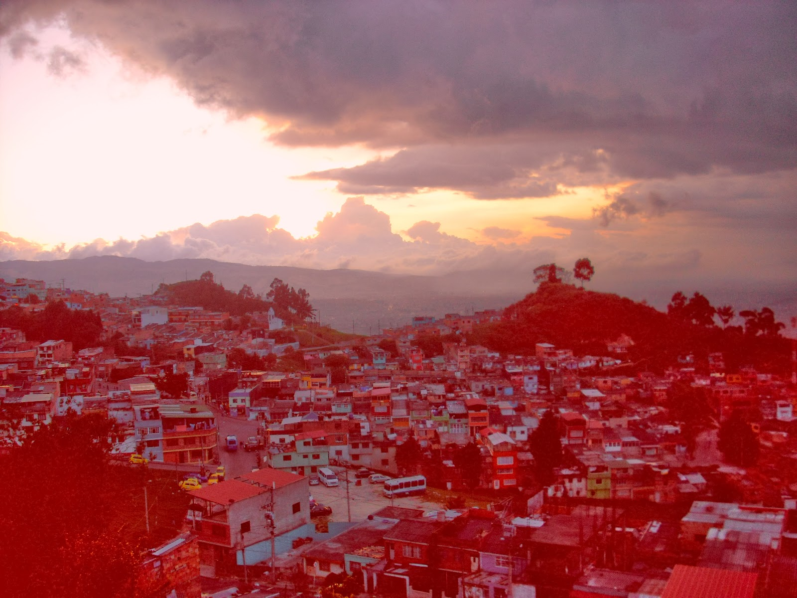 Bogotá's 'darker' south.