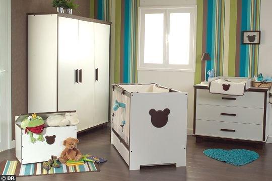 Mobilier chambre de bébé