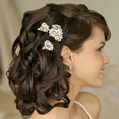 Bridal Hair Styles Designs Images Short Hair Styles For Wedding