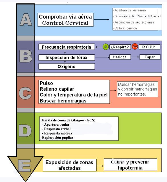 Valoración Primaria ABCDE   URGENCIAS Y EMERGENCIAS EXTRAHOSPITALARIAS