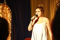 Up-and-coming comedy star Harriet Kemsley, stand-up comedy,