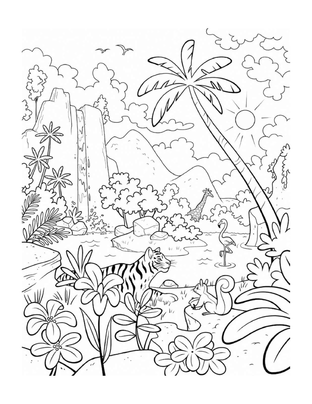January Coloring Page | New Calendar Template Site