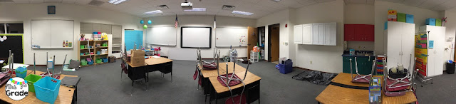Panaromic picture before back to school set up was in full effect