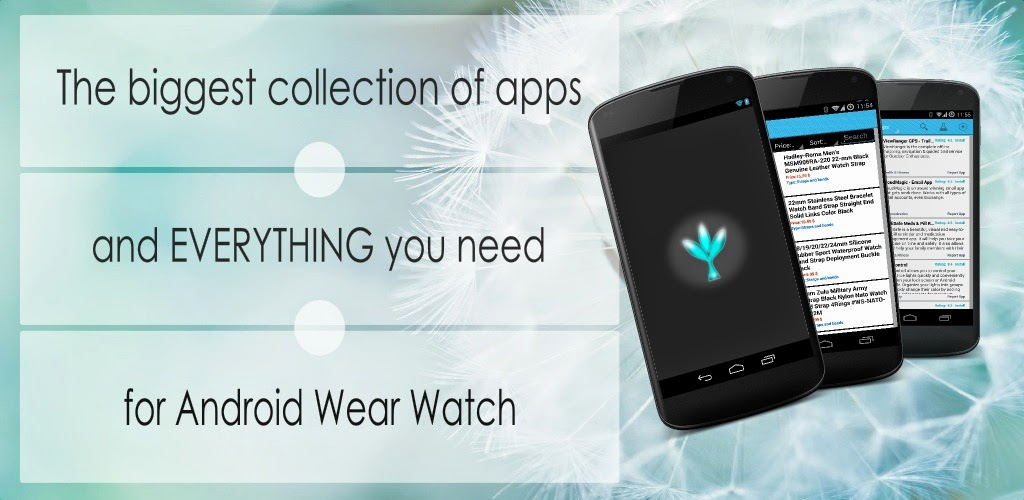 Apps for Android Wear Watch