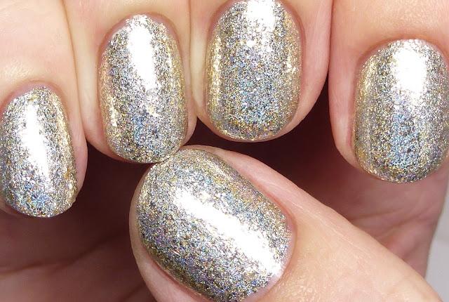 Grace-full Nail Polish Silver and Gold