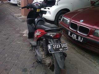 Pengambilan Mobil BMW dan Motor Beat Surabaya