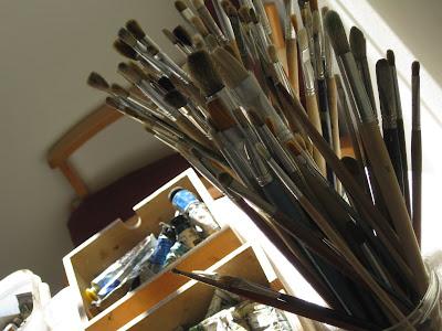 Workshop de Pintura a Óleo s/Tela e Madeira