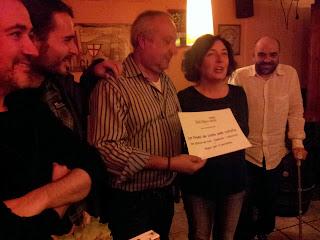 Primer premi del concurs de cuina amb ratafia