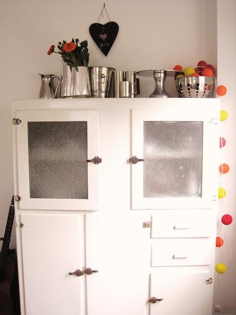 Home Tour Vintage Cabinet