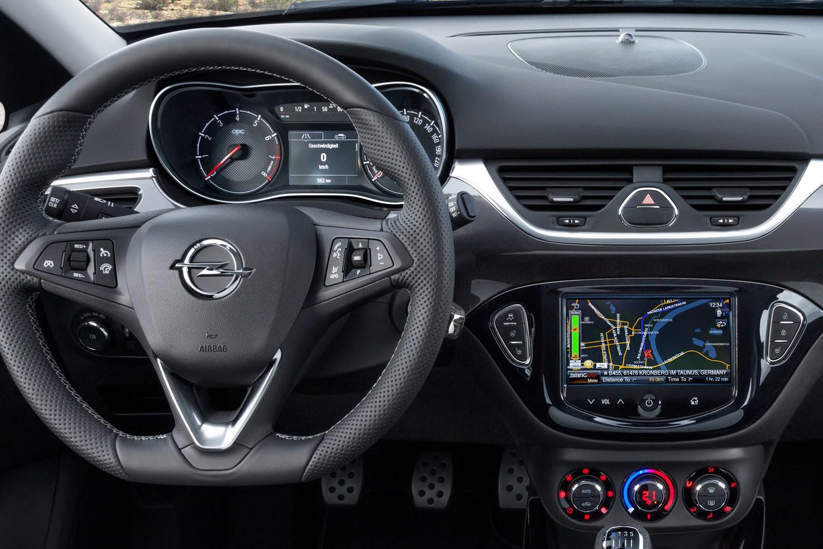 New Photos Of Opel Corsa Opc Expose Interior Carscoops