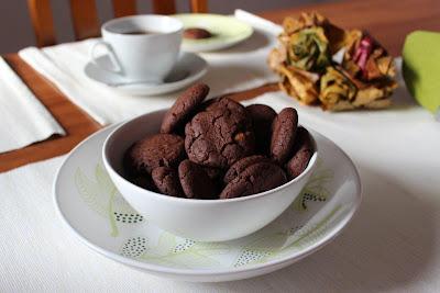 Ciasteczka czekoladowe z kawałkami czekolady (Bajeczne smaki)