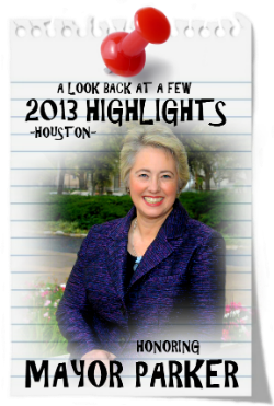 CHECK OUT MAYOR ANNISE PARKER'S MAJOR VICTORY FOR 2013