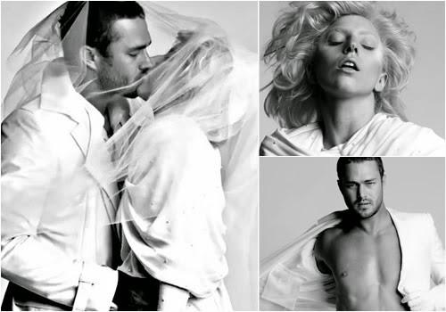 Taylor Kinney y Lady Gaga