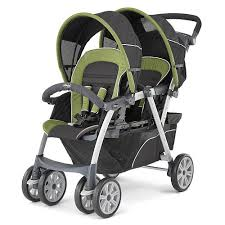 Double Stroller Carseat Combo For Twins